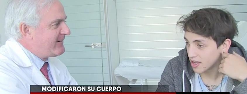 RECONSTRUCCIÓN DE OREJA TRAS USO DE EXPANSIONES