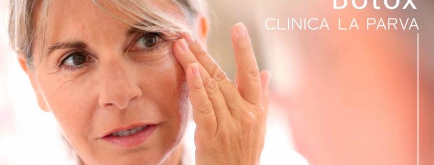 Bótox o tóxina butolínica Clínica La Parva dermoestética
