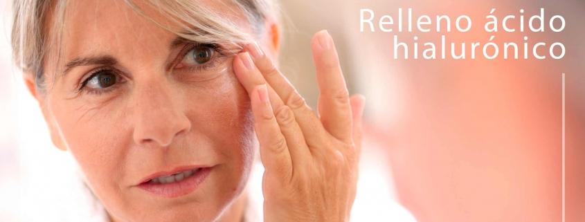 Relleno ácido hialurónico clínica la parva dermoestética